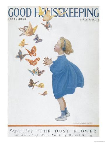 Good Housekeeping, September Art Print