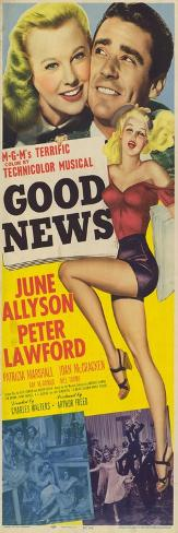 Good News, 1947 Art Print