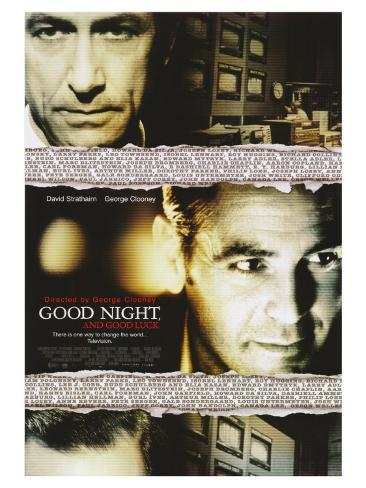 Good Night and Good Luck, 2005 Stretched Canvas Print