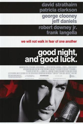 Good Night and Good Luck Poster