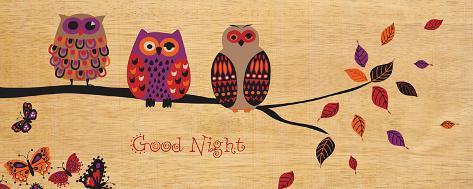 Good Night Owl Art Print