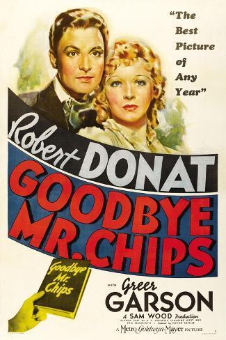 Goodbye, Mr. Chips, 1939 Gicléetryck