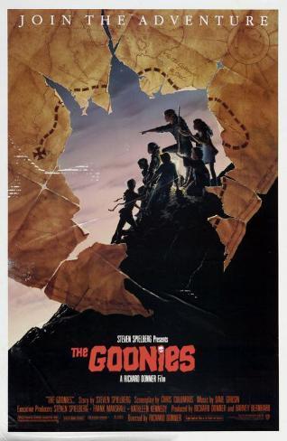 Goonies, Los Goonies, The Lámina maestra