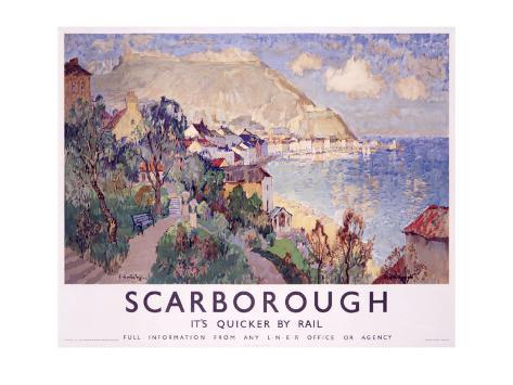 Scarborough Giclee Print