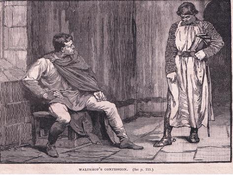 Waltheof's Confession Giclee Print
