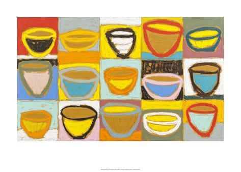 Colour Bowls, c.2009 Serigraph