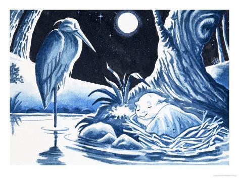 Gulliver Guinea-Pig Giclee Print