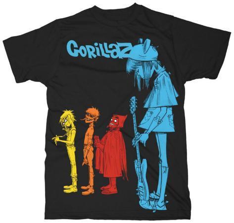 Gorillaz - Rock The House T-shirt
