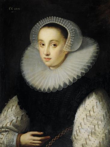 Portrait of Hortensia Del Prado (Died) Art Print