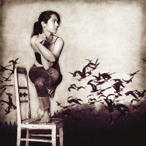 Garudasana Art Print