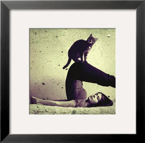 Halasana Framed Art Print