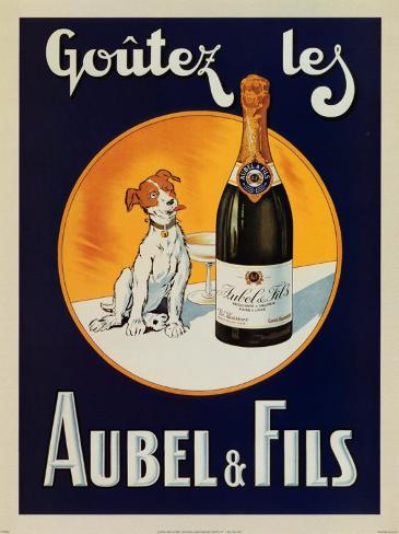 Goutezles Aubel and Fils Art Print