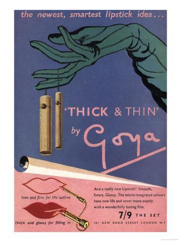 Goya Make-Up, UK, 1940 Giclee Print