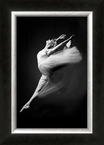 Grace in Motion Framed Giclee Print