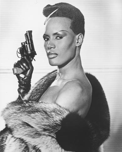 Grace Jones, A View to a Kill (1985) Photo