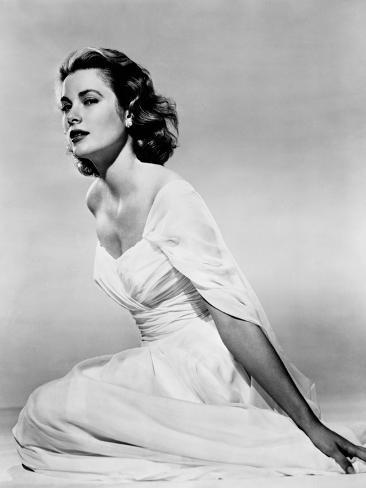 Grace Kelly, 1954 Photograph by Everett