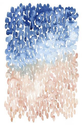 Coral Cascade II Art Print
