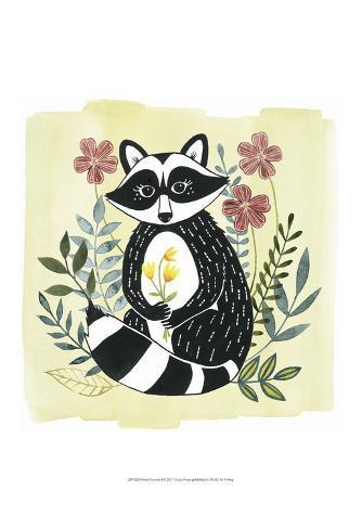 Floral Forester I Art Print