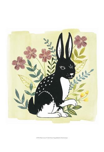 Floral Forester IV Art Print