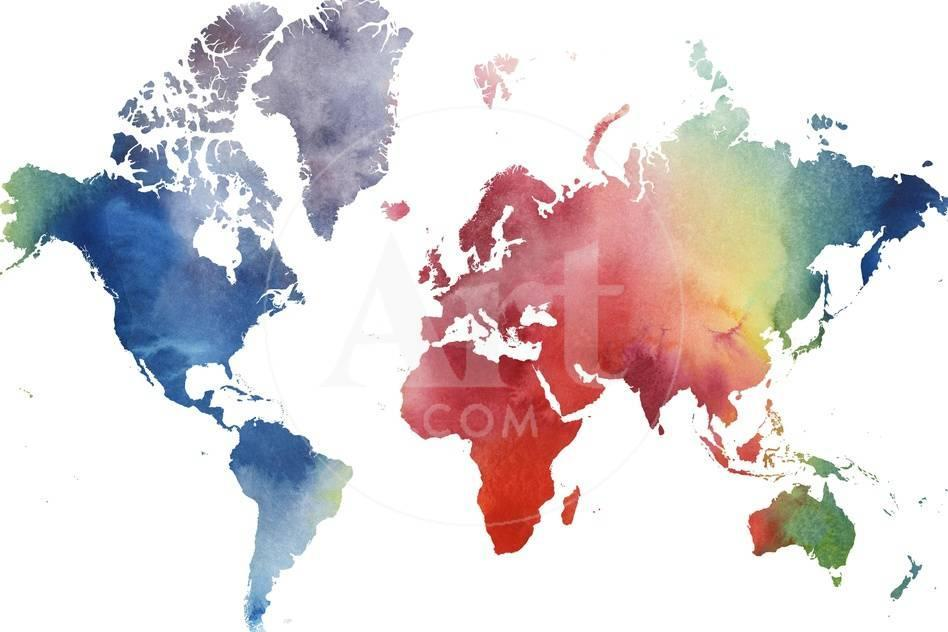 Rainbow world premium giclee print by grace popp allposters privacy preference centre gumiabroncs Gallery