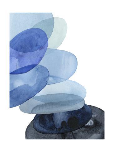 River Worn Pebbles II Art Print
