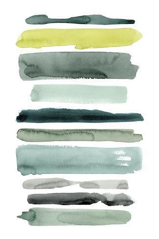 Sea Strokes I Art Print