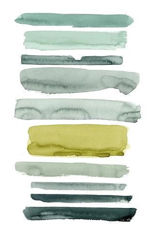 Sea Strokes II Art Print