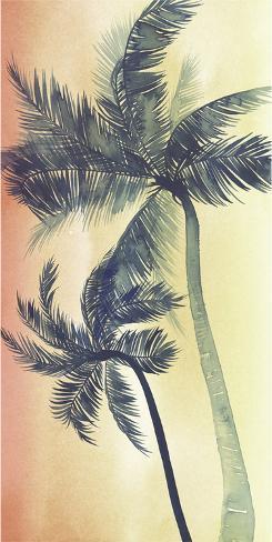 Vintage Palms I Art Print