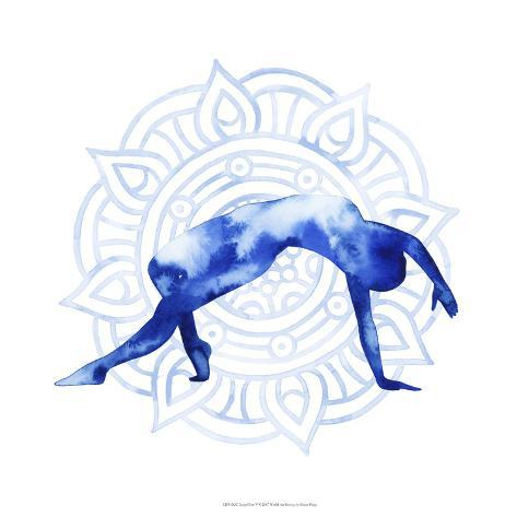 Yoga Flow V Art Print