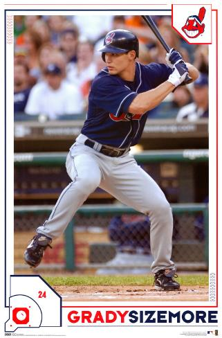 Grady Sizemore Poster