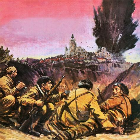 Spanish Civil War Giclee Print