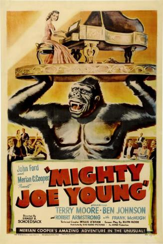 gran gorila, El|Mighty Joe Young Lámina maestra
