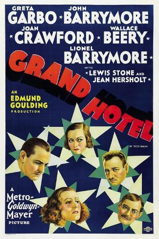 Grand Hotel 1932 Gicléetryck