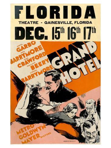 Grand Hotel, 1932 Art Print
