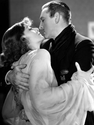 Grand Hotel, Greta Garbo, John Barrymore, 1932 Photo