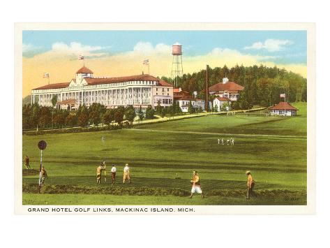 Grand Hotel, Mackinac Island, Michigan Art Print