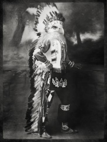 Chief Shikoba Featherbeard Art Print