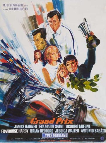 Grand Prix - French Style Masterprint