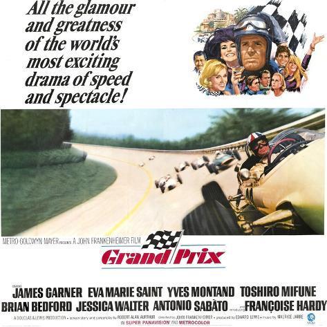 Grand Prix Art Print