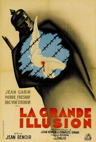 Grande Illusion - French Style Poster