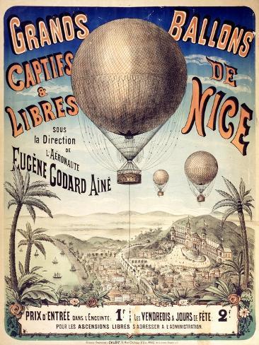 Grands Ballons de Nice Art Print