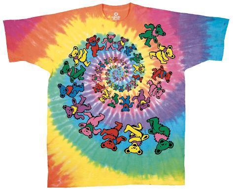 Grateful Dead - Spiral Bears T-Shirt