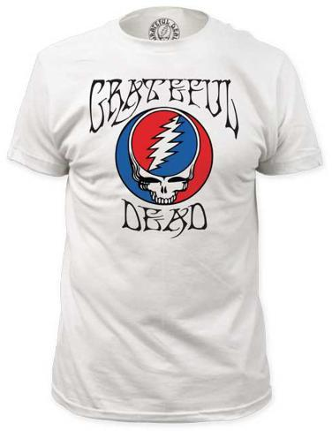 Grateful Dead - Steal Your Face with Logo (slim fit) T-Shirt