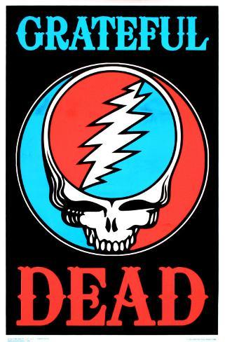 Grateful Dead Póster para luz ultravioleta
