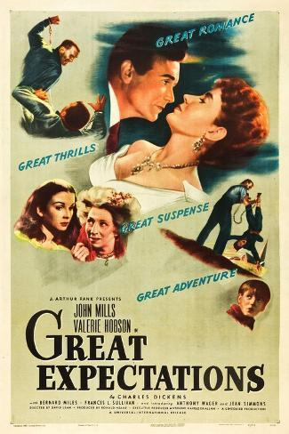 Great Expectations, 1946, Directed by David Lean Giclee Print