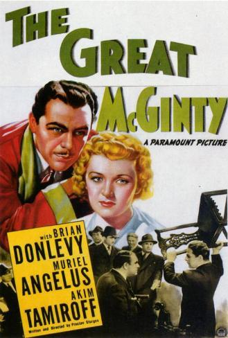 Great McGinty Poster