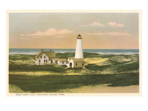 Great Point Lighthouse, Nantucket, Massachusetts Art Print