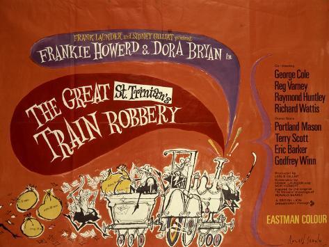 Great St. Trinian's Train Robbery (The) Lámina