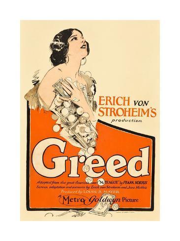 Greed, Zasu Pitts, 1924 Art Print