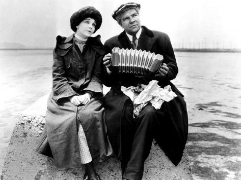 Greed, Zasu Pitts, Gibson Gowland, 1924 Photo